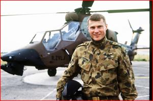 Major Scott Watkins is the first Australian since the Vietnam War to earn a Distinguished Flying Cross.