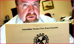 Paul Tully, National Secretary, Australian Local Government Nuclear Free Zones Secretariat.