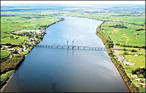 Clarence River at Harwood.