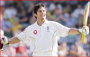 English batsman Alistair Cook led England's fightback. AAP IMAGE