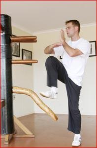 Sifu Shaun Halley has dedicated his life to learning the art of Wing Chun.Pic: KEVIN FARMER