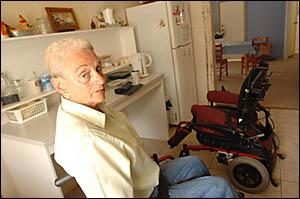 Phyllis Harding at her Grafton home.