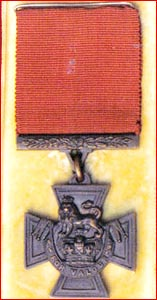 The Victoria Cross of Cpl John French. Pic Supplied