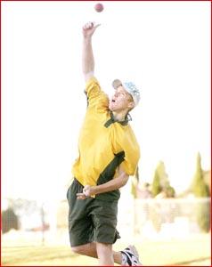 Gatton cricketer Chris Sabburg has made the Australian Under 17 side.Pic: NEVILLE MADSEN