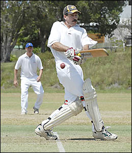 Bellingen skipper Chris Moran made only two runs as his team lost outright to Sawtell.