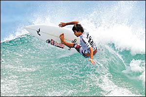 Jayke Sharpe heads into tomorrow?s Billabong Pro Junior as the ASP top ranked surfer.