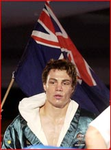 Toowoomba boxer Michael Katsidis, rated number two in the WBO world rankings. Pic: NEVILLE MADSEN