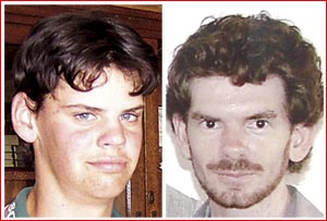Victims Tyson Wilson and Michael Thompson