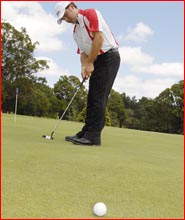 Toowoomba golfer Mark Wuersching is returning to re-start his professional career. Picture: BEV LACEY