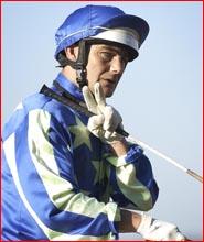 Jason Warrington returns to scale after a recent race victory at Clifford Park.Picture: SCOTT FLETCHER