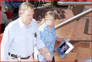 Ross and Margaret Thompson, parents of one of the victims. Pic: Bev Lacey