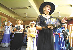 The Woolgoolga Day View Club choir takes the crowd for a stroll down memory lane at yesterday?s Seniors? Week concert and award