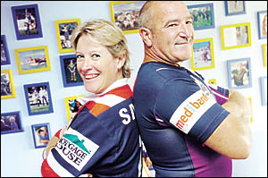 Lyn and Brian Aubusson, of Ballina, will be cheering from the stands when their two boys James and Mitch  make their NRL debuts