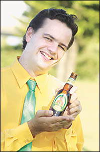 He may not be James Boag, but the Democrat candidate for the State seat of Ballina hopes his free beer will score him a few ext