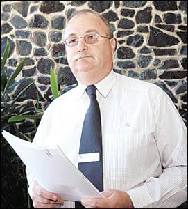 BRIAN WILKINSON: Seeking federal money.