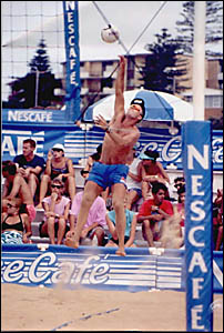 Former pro-beach volleyball star Stuart Jemeson is leaving the comforts of Coffs Harbour to take up a coaching role in Qatar.