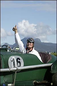 ROGER Ealand gives the thumbs up to a feast of F1 history at Speed On Tweed.