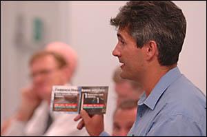 Labor candidate Mark Kingsley.
