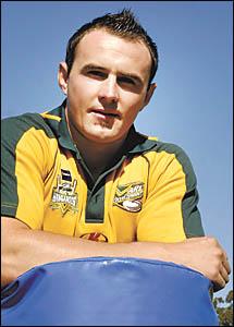 Speedster: Hayden Fisher.