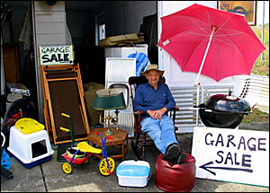 Get to Lawrence early for Lawrence Museum?s garage sale. The sale of goods raises money for the museum.