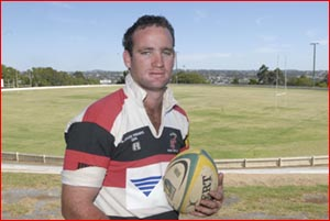 Eastern Downs Eagles and Rangers rugby union player Steve O'Leary wants to add a Queensland guernsey to his collection.