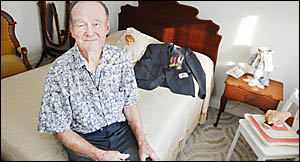 SSSSHHH! For 30 years, Clive Rutledge, of Lismore, could not reveal the work he did for Special Forces in the army as a map-mak