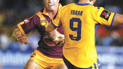 Rival hookers Danny Buderus and Robbie Farah face of in Thursday's City-Country clash.