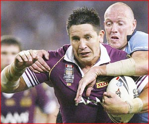 Toowoomba football product Steve Price leads a strong local contingent for next week's State of Origin match.