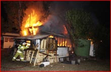 The house fire in Warner Street had seen complaints addressed to Toowoomba City Council about it being a fire hazard.