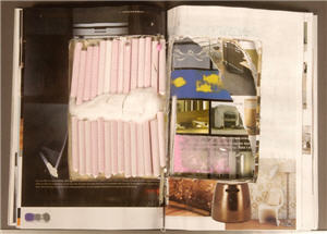 Federal police allege 30 rolls containing 476 tablets of ecstasy were found in this Irish Interiors magazine.