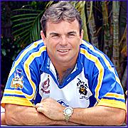COMEBACK: Former NRL star Noel Goldthorpe.