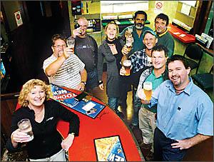 IN MEMORY: Friends Margaret Wheeler, Craig Pullman, Brian Walker, Georgia Buckle, Johnny Singh, Paul Schultz, Terry Wright, Ton