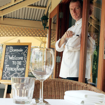 Erik Van Alphen has brought his classical French culinary skills to Woombye.
