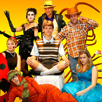 Fantastic costumes are on display in Roald Dahl's James and the Giant Peach, playing at Theatre J in Noosa until 12 July.