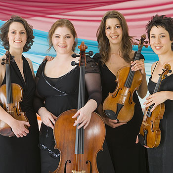 The Australian String Quartet will perform at Sippy Downs on Friday, August 3.