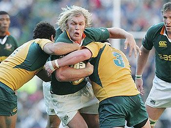 The Wallabies vs the Springboks in the Tri-Nations clash in Sydney: Seven, 7:30.