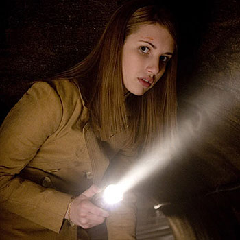 Emma Roberts plays the part of Nancy Drew, teenage super-sleuth.