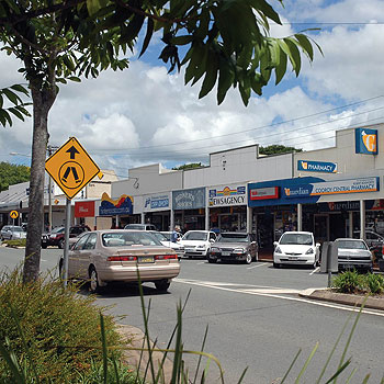 Cooroy, 25km from Noosa, is a growing rural residential area with hundreds of acreage homes dotted along the rolling countryside