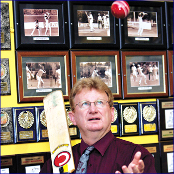 Glynn Williams is the new administrator of the coast cricket association.  Photo: Chris McCormack