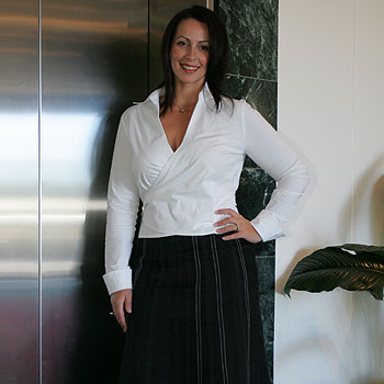 Sunshine Coast business banking manager Rebecca Licciardi shares her style tips.