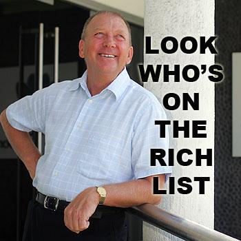 Sunshine Coast developer Graeme Juniper's family worth has been estimated at $444 million.