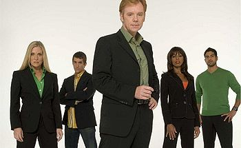 Horatio and the team from CSI:Miami
