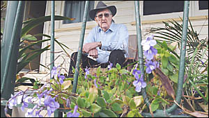 CHANGE FOR THE BETTER: Doug Myler, 82 of Lismore Heights was recently hospitalised for six weeks and would much rather have rec