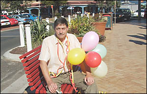 NO NEED: Lennox Head business owner Mick Marrs says it is a smart move to cancel New Years Eve plans. Picture: MARY MANN