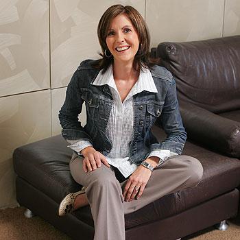 Buderim life coach Rebecca Ramsay's style reflects soft, casual elegance.