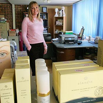 Elandra Skincare creator Karen Passingham.