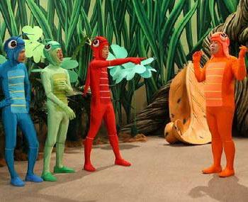 The grasshoppermen of Haneru no Tobira. Photo: Fuji TV