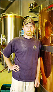 BEER WITH NO PUB: Northern Rivers Brewing Company owner Kevin% Rowland is disappointed with the decision by Taste of Byron to b