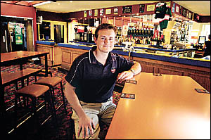 SHORT ODDS: Goonellabah Tavern manager Adam Berger says despite small returns hell introduce Keno as a service to patrons. Cat