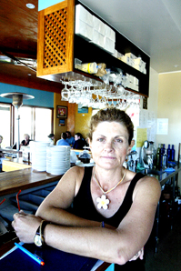 Pandanus Cafe proprietor Mandy Blair